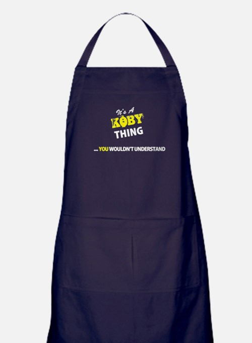 KOBY thing, you wouldn't understand Apron (dark)