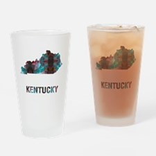 Unique Kentucky Drinking Glass