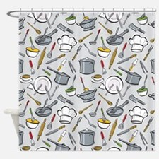 Chef's Tools Shower Curtain