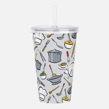 Chef's Tools Acrylic Double-wall Tumbler