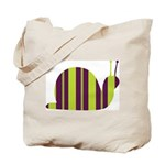Slow Movin' Retro Snail Tote Bag