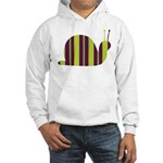Slow Movin' Retro Snail Hooded Sweatshirt