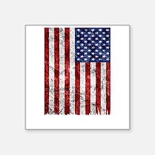 American Flag Grunge Sticker