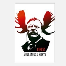 Bull Moose Party Postcards (package Of 8)