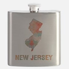 Funny New jersey Flask