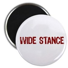 Wide Stance Red Magnet