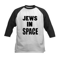 Jews in Space Kids Baseball Jersey