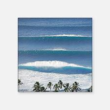 Pipeline Surf Hawaii Sticker