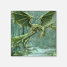 Grassy Earth Dragon Sticker