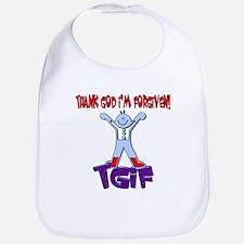 TGIF-Boy Bib