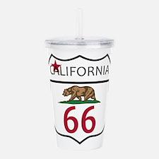 Route 66 California Acrylic Double-wall Tumbler