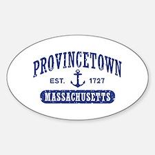 Provincetown Sticker (Oval)
