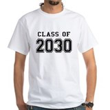 Class of 2030 Mens Classic White T-Shirts