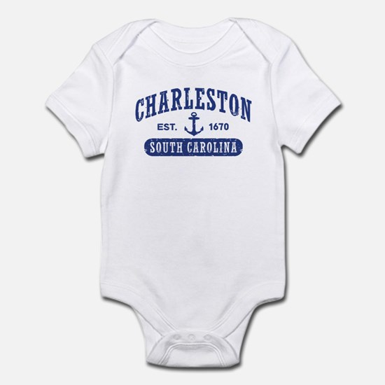 Charleston South Carolina Infant Bodysuit