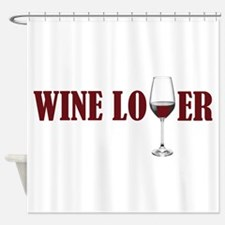 Cute Shiraz Shower Curtain