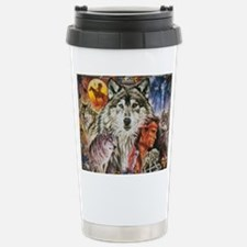 Cute Animal wolf Travel Mug
