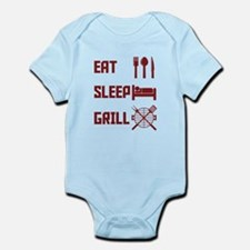 Eat Sleep Grill Body Suit
