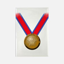 Visualize Winning Gold Rectangle Magnet