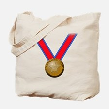 Visualize Winning Gold Tote Bag