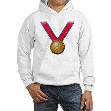 Visualize Winning Gold Jumper Hoody