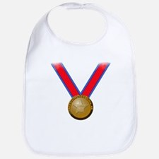 Visualize Winning Gold Bib