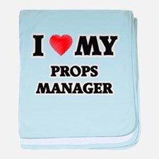 I love my Props Manager baby blanket