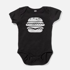 Cheeseburger Baby Bodysuit