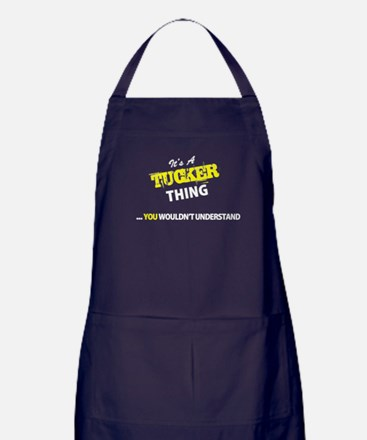 TUCKER thing, you wouldn't understand Apron (dark)