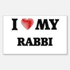 I love my Rabbi Decal