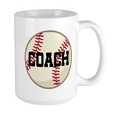 Baseball coach Large Mugs (15 oz)