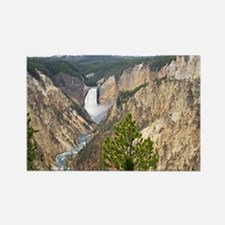 Yellowstone Canyon Rectangle Magnet