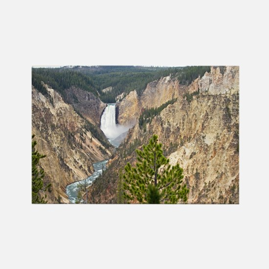 Yellowstone Canyon Rectangle Magnet