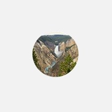 Yellowstone Canyon Mini Button