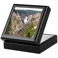 Yellowstone Canyon Keepsake Box