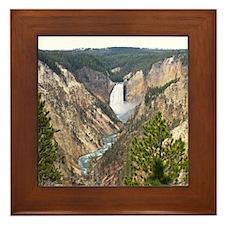 Yellowstone Canyon Framed Tile