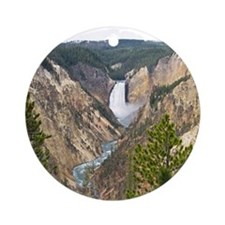 Yellowstone Canyon Ornament (Round)