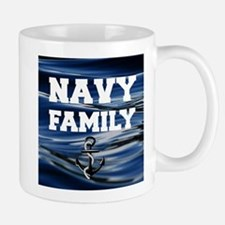 Navy Family Mugs