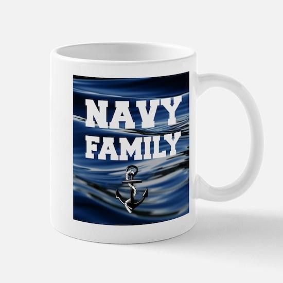 Navy Family Mugs