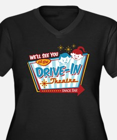 See You At The Drive-In Women's Plus Size T-Sh