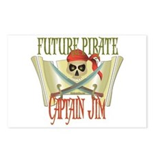 Captain Jim Postcards (Package of 8)
