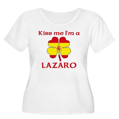 Lazaro Family Women's Plus Size Scoop Neck T-Shirt