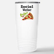 Funny Pizza Travel Mug