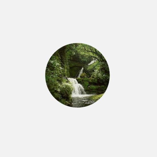 McLean Falls NZ Mini Button