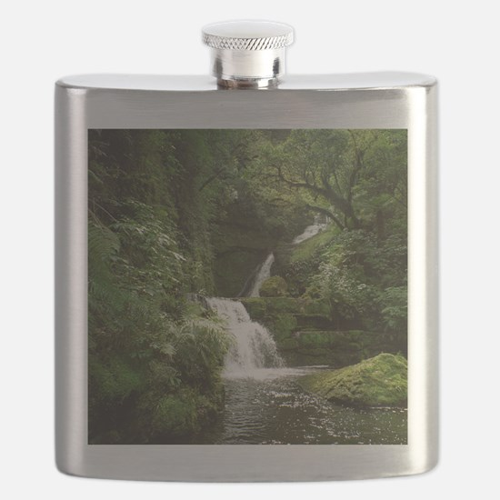McLean Falls NZ Flask