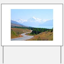Mount Cook Highway NZ Yard Sign