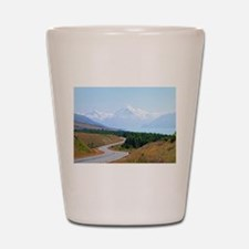 Mount Cook Highway NZ Shot Glass