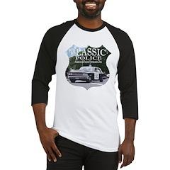 Classic Police Car Baseball Jersey