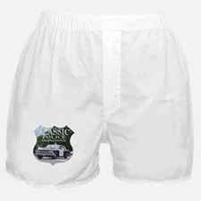 Classic Police Car Boxer Shorts