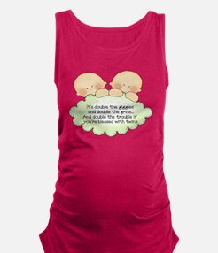 Cool Peas in a pod Maternity Tank Top