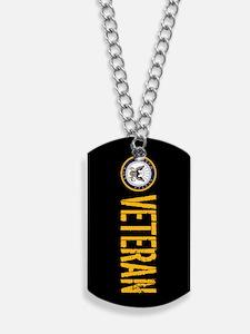 U.S. Navy: Veteran (Black) Dog Tags